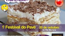 """""""Pavê"""" ou """"Pacumê""""? Festival inédito de Pavê vai adoçar São Paulo no dia 20 de outubro"""