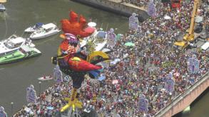 O Galo da Madrugada chega ao Carnaval de São Paulo em 2020