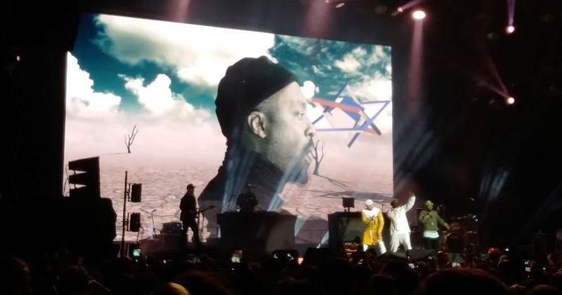 Black Eyed Peas mistura hip-hop e música eletrônica no Ibirapuera