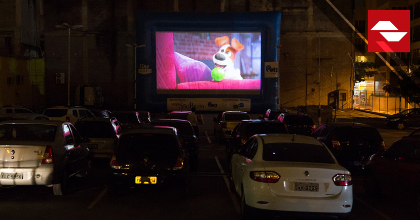 SESSÕES GRATUITAS DE CINEMA ESTILO DRIVE-IN