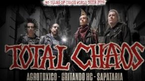 Total Chaos traz tour comemorativa de 30 anos a São Paulo
