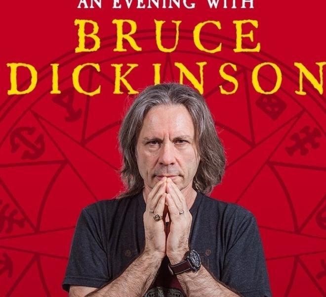 Bruce Dickinson volta a São Paulo em 2020 para falar sobre sua vida