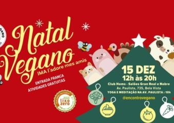 Natal Vegano JMA na Avenida Paulista