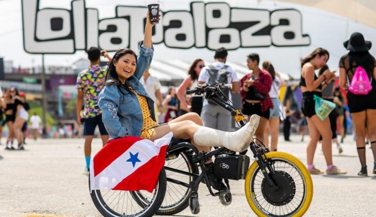 Acessibilidade no Lollapalooza Brasil 2020