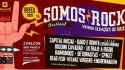 """Festival """"Somos Rock"""" reúne várias bandas de rock no Canindé"""