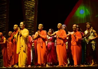 Musical sobre a vida de Buda tem apresentação única no Teatro Renault