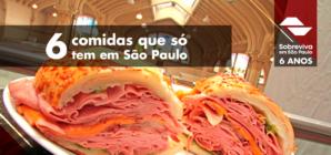 6 comidas que só tem em São Paulo