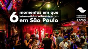 6 momentos em que introvertidos sobreviveram em São Paulo