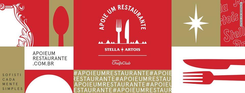 Stella Artois lança ação em prol de estabelecimentos alimentícios