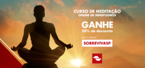 Projeto Respirar com desconto em curso de meditação online