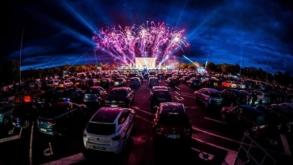 Arena Sessions: estádio do Palmeiras lança projeto de cinema drive-in