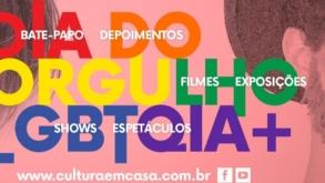 Museu da Diversidade Sexual e #CulturaEmCasa promovem o evento +Orgulho hoje