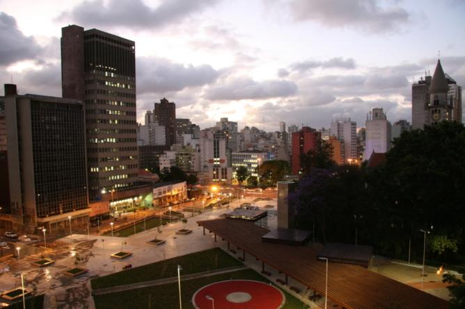 Tour Virtual Praça Roosevelt e República Moderna by night