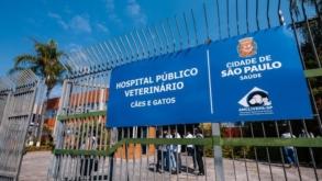 Terceiro Hospital Veterinário Público de São Paulo começa a funcionar