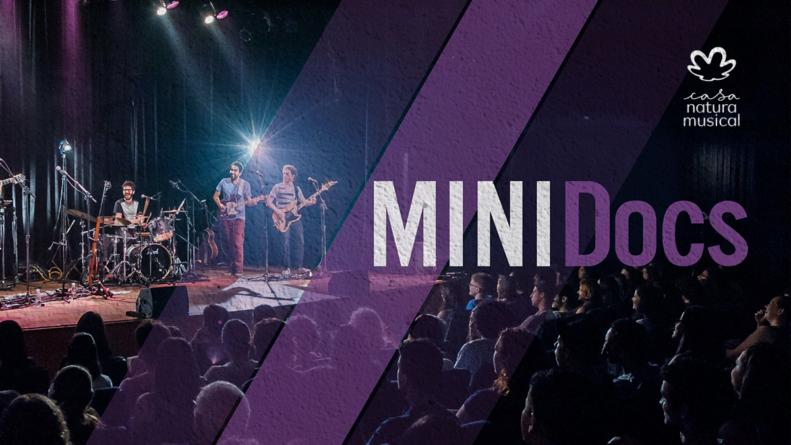 Na próxima terça-feira, MINIDocs apresenta Luê  do palco da Casa Natura Musical