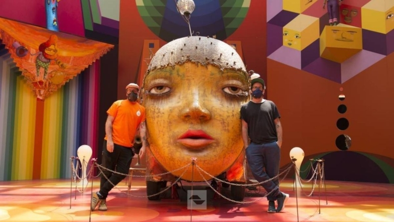 Pinacoteca de São Paulo prorroga exposição da dupla OSGEMEOS