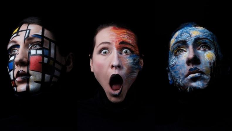 Exposição 'Passeio: Arte pela Pele'
