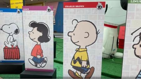 Snoopy e sua turma ganham exposição em homenagem aos seus 70 anos