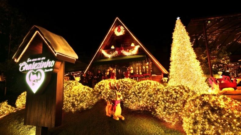Chalezinho Morumbi estreia decoração de Natal