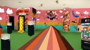 Shopping Frei Caneca recebe galeria interativa e instagramável