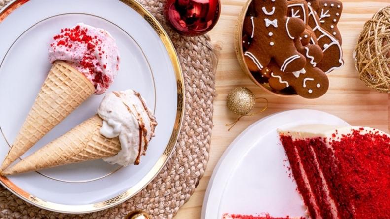 Gelateria lança sabores natalinos e relembra a importância das relações nesta festividade