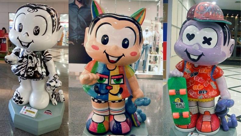 """Exposição """"Mônica's"""" no Shopping SP Market"""