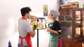 Projeto leva capacitação profissional e artística a partir da reutilização de garrafas de vidro