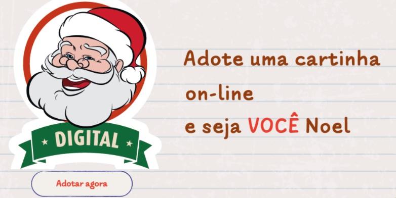Papai Noel dos Correios: neste ano, a campanha é online