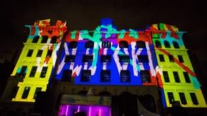 Coletivo Coletores realiza obras de videomapping que refletem sobre a história de São Paulo