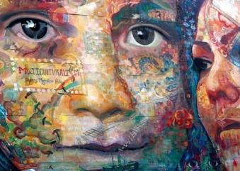Viagem artística sobre a cultura de povos das Américas Latina e Central