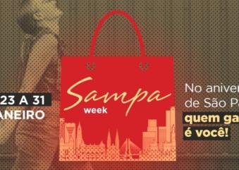 Sampa Week tem mais de 20 mil lojas com promoções até o dia 31