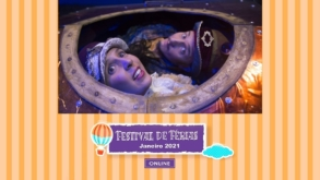 O tradicional festival de teatro para crianças terá sua versão online esse mês