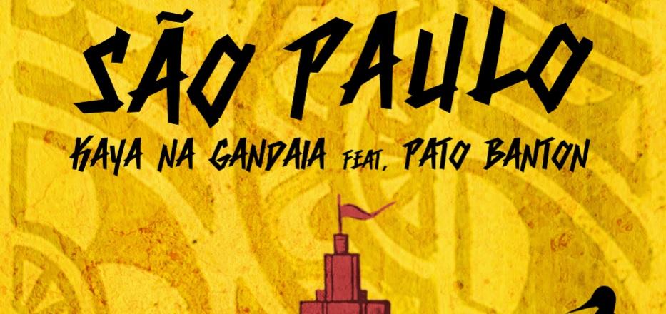 """""""São Paulo"""" vira nome de música do bloco Kaya na Gandaia com o inglês Pato Banton"""
