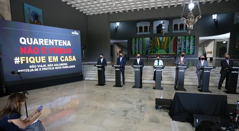 Governo de SP prorroga fase emergencial de combate à pandemia até 11 de abril