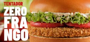 Nova versão do hambúrguer à base de plantas do Bob's