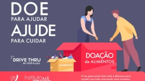 Tietê Plaza Shopping arrecada alimentos para famílias necessitadas
