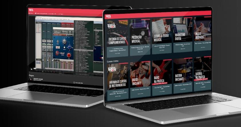School of Rock lança plataforma digital de ensino musical