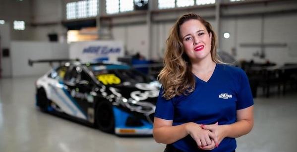 Equipe paulista é a primeira na Stock Car a ser chefiada por uma mulher