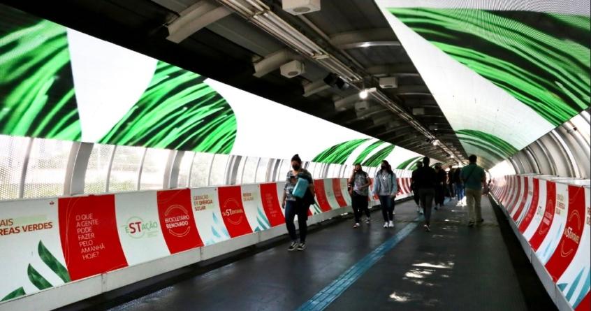 Estação da CPTM se torna a primeira estação sustentável de São Paulo