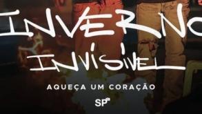 SP Invisível promove campanha de entrega de kits de inverno