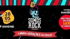 Somos Rock Festival 2022 está com pré-venda de ingressos aberta