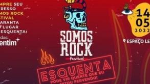 """Somos Rock: ingressos de 1° lote dão direito a """"esquenta"""""""