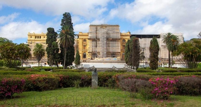 Com 70% das obras concluídas, Museu do Ipiranga tem contagem regressiva para reabrir