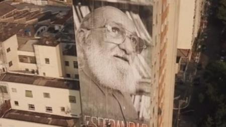 Paulo Freire: centenário do autor ganha mural e exposição
