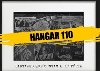 Hangar 110 promove mostra virtual de cartazes que contam sua história