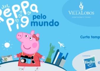 """Circuito de brincadeiras """"Peppa Pig pelo Mundo"""" está em suas últimas semanas"""